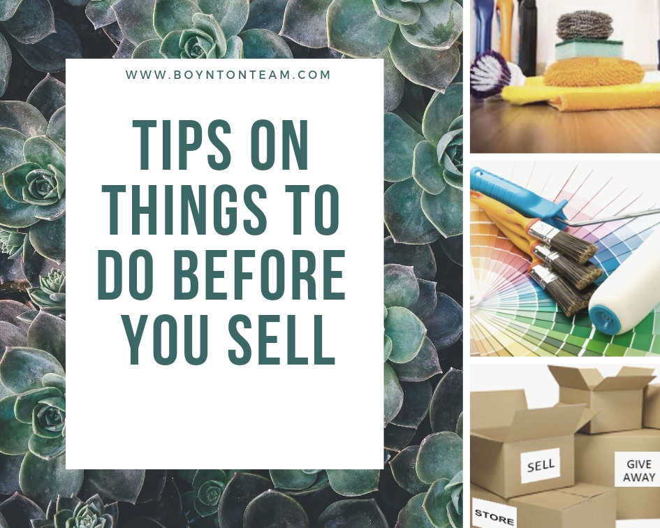 10 Things to do before you sell your house